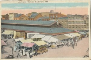 BALTIMORE , Maryland , 1910s ; Lexington Market