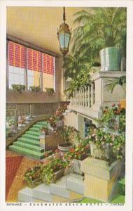Illinois Chicago Edgewater Beach Hotel Entrance