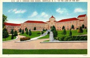 North Carolina Asheville Lee H Edwards High School