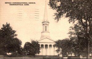 Connecticut Thompsonville Enfield Congregational Church