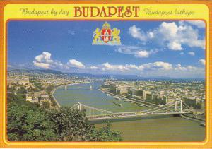 Hungary Budapest Panorama By Day