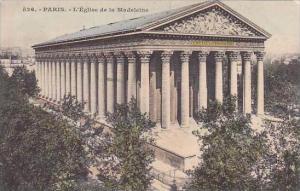 France Paris L'Eglise de la Madeleine