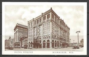 Wisconsin, Milwaukee - Hotel Pfister