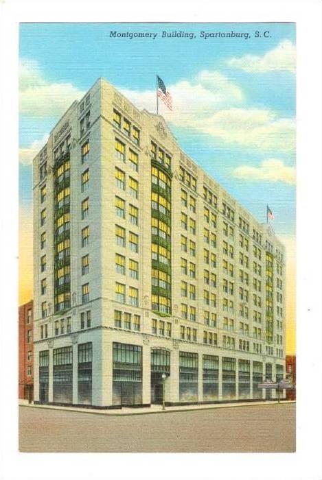 Montgomery Building, Spartanburg, South Carolina, 1930-1940s