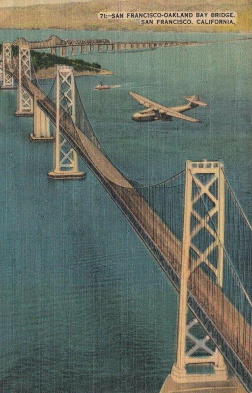 CALIFORNIA , 30-40s; San Francisco-Oakland Bay Bridge, version 2