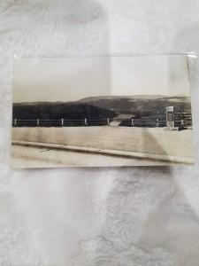 Roosevelt Highway, Buck Mount  Real Photo