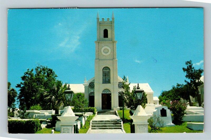 Bermuda, Christ Church Warwick Parish Chrome Postcard