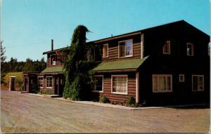 122 Mile House Lodge Lac La Hache BC Unused Vintage Postcard D72