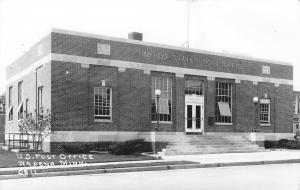 Wadena Minnesota~US Post Office in Summer (Windows Open) RPPC c1942
