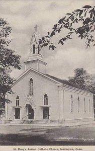 Connecticut  Stonington St Marys Roman Catholic Church Albertype