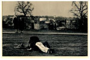 Couple making Love in Park, Watched, by Peter Baistow