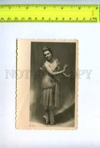 198465 Alla SHELEST Russian BALLET Dancer FAIRY Vintage PHOTO
