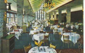 Canada Dining Room Jasper Park Lodge Alberta