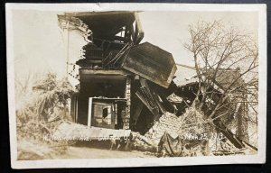 Mint USA RPPC Real Picture Postcard Dayton Ohio Monument Ave During Flood