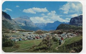 Logan Pass Glacier National Park Montana postcard