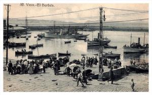 Vigo  El  Berbes  fish Vendors at docks