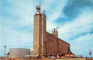 Brownfield Texas Grain Elevator Vintage Postcard J51331