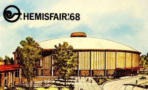 TX - San Antonio. HemisFair '68. Convention Center Arena