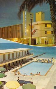Miami Beach FL~Golden Sands Motor Hotel~Ping Pong Tennis Table~Booze Better~1970