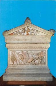Turkey Iskender Lahdi Sayda'da bulunmustur Arkeoloji Muzeleri Sarcaphagus