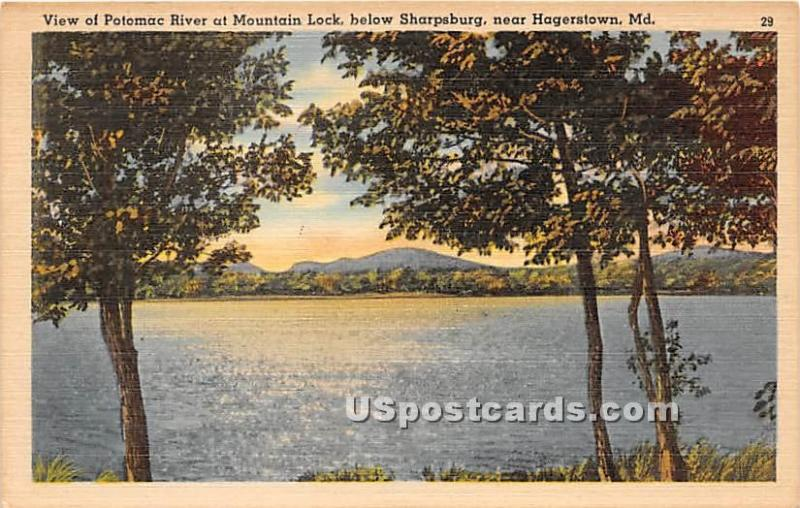 Potomac River, Mountain Lock Hagerstown MD Unused