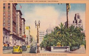 California Los Angeles View In Pershing Square