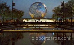 New York Worlds Fair, New York City, NYC Exposition, Postcard Post Card Unused