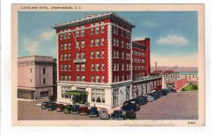 SPARTANBURG, South Carolina; Cleveland Hotel, 30-40s