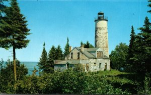 Michigan Isle Royale National Park Rock Harbor Lighthouse 1975