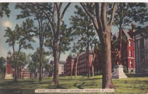 Rhode Island Providence Front Campus Brown University