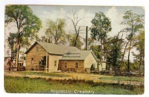 Wisconsin Creamery unused divided back PPC, Indian Homestead Advertisement