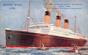 6003   R.M.S. Majestic   White Star Line