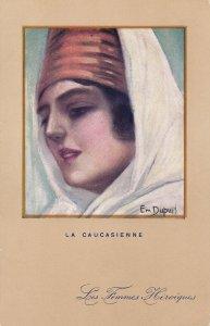 DUPUIS , Emile; La Caucasienne , Head Portrait , 00-10s