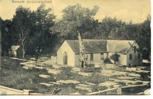 BERMUDA    PC406    OLD DEVONSHIRE CHURCH