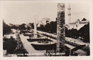 Turkey Constantinople Istanbul Sultan Ahmet meydandinden Aya Sofya gorunde Photo
