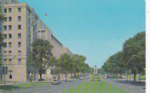 Canada Ottawa Elgin Street With Its Lawn Boulevard 1958