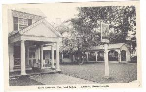 Front Entrance, The Lord Jeffery, Amherst, Massachusetts, 10-20s