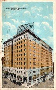 Ohio Toledo New Hotel Waldorf 1926