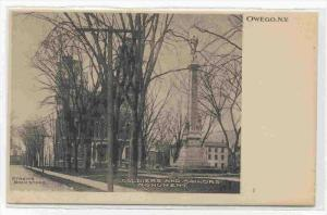 Soldiers' & Sailors' Monument, Owego, New York, 1900-1910s