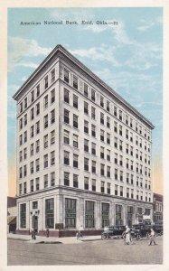 ENID , Oklahoma , 1910s ; American National Bank