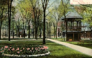 NY - Elmira. Wisner Park
