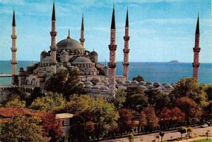 Turkey Istanbul ve Saheserleri The Blue mosque Blaue Moschee La Mosquee Bleue