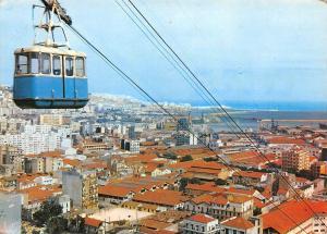Algeria Vue generale sur Belcourt Oranie et de l'Algerois Cable car