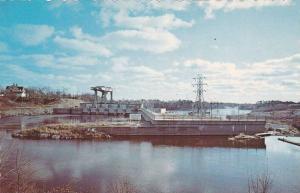Chutes, Dufferin Falls, Mac Laren Company, Buckingham, Quebec, Canada, 40-60's