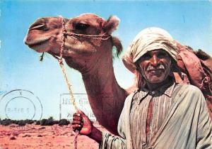 Tunisia Souvenir Old man with Camel