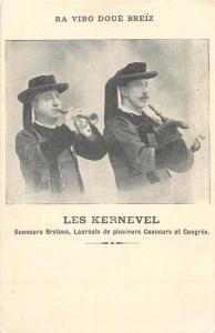 LES KERNEVEL - Sonneurs Bretons, Lauréats trumpeter bagpipe music instruments