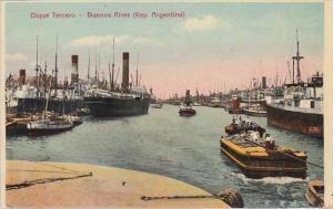 Argentina Buenos Aires Dique Tercero Harbor Scene