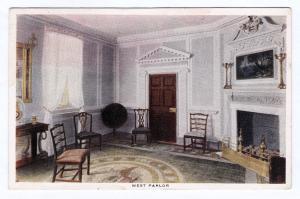 1920 RARE Antique West Parlor Room Mt. Mount Vernon VA George Washington Home