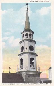 FREDERICK , Maryland, 00-10s ; Reformed Church Spire