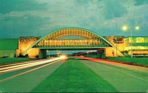 Oklahoma Vinita Interstate Hosts Restaurant Above Will Rogers Turnpike